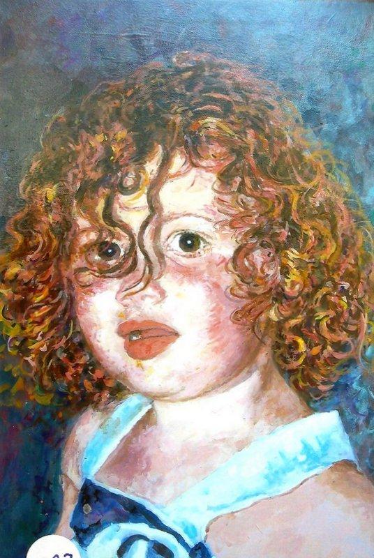 Araldo Camici, Ritratto di bambina