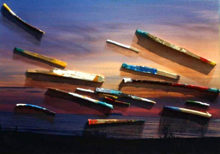 Gianfranco Pacini, Colori del tramonto