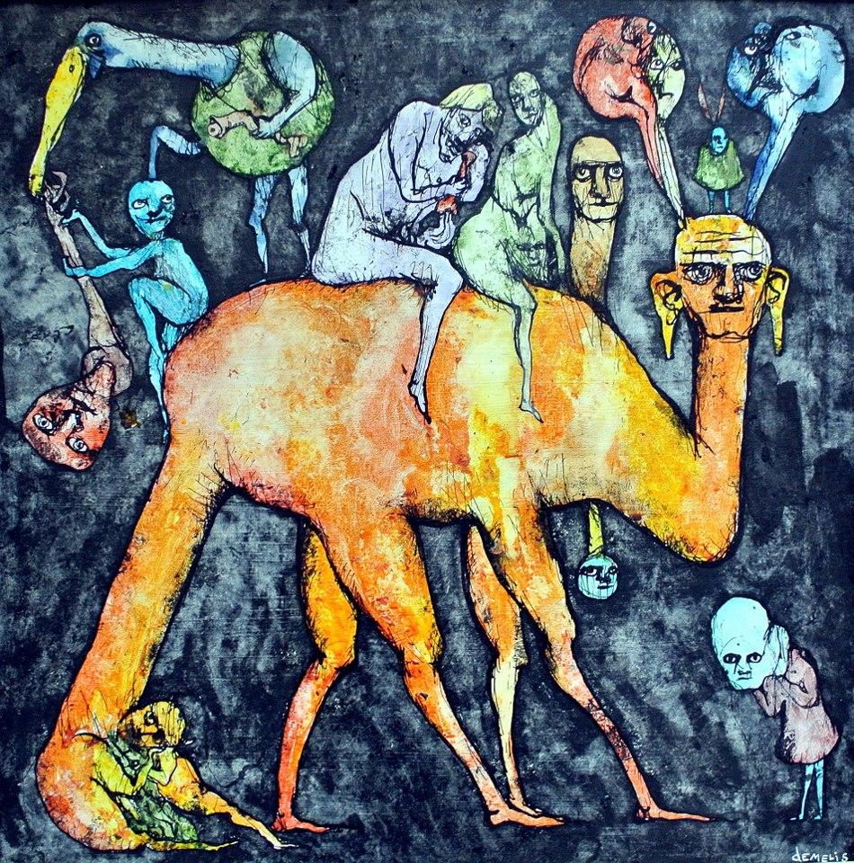 Eric Demelis, Le chameau sans bosses et les daltoniens